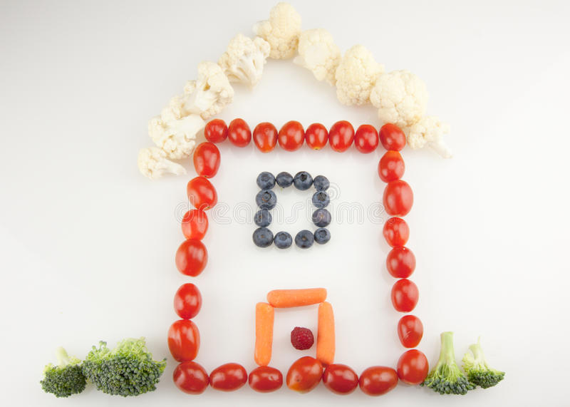 Download Vegetable Home stock image. Image of fresh, roof, yard - 25919623