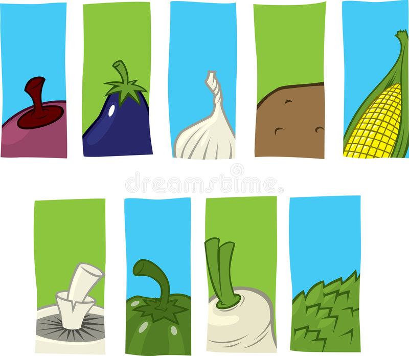 Download Vegetable Icons Stock Photo - Image: 5081810