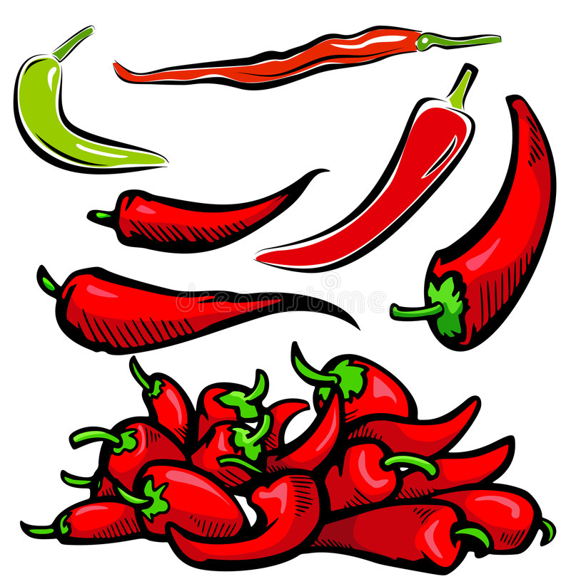 Free Vegetable Illustration Series Stock Photo - 3820580
