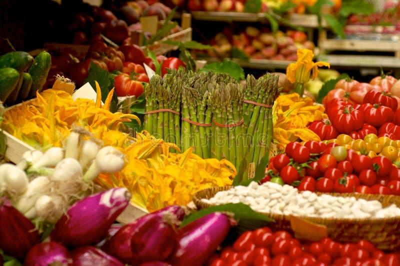 Vegetable market stock images