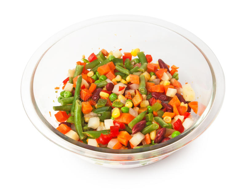 Download Vegetable mix stock image. Image of dish, beans, vegetarian - 30885849