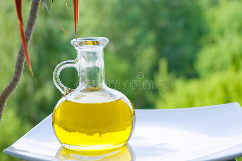Vegetable oil royalty free stock image