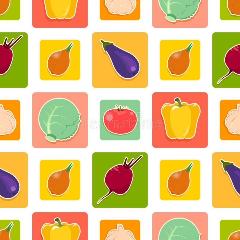Vegetable_pattern images stock