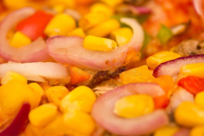 Download Vegetable Pizza stock image. Image of pepper, junk, vegetable - 27111241