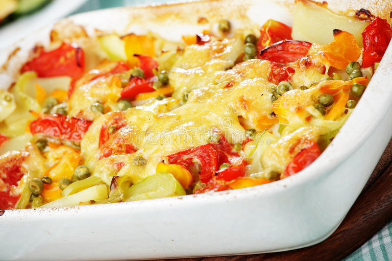 Vegetable pudding stock photography