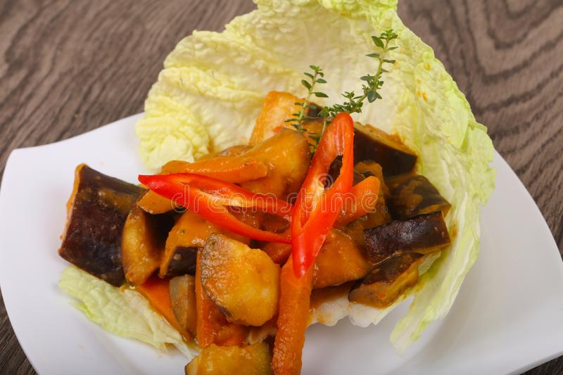 Vegetable rague stock image