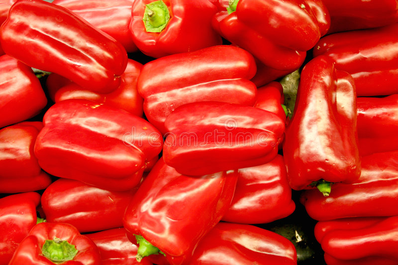 Vegetable - Red Bell Pepper stock images