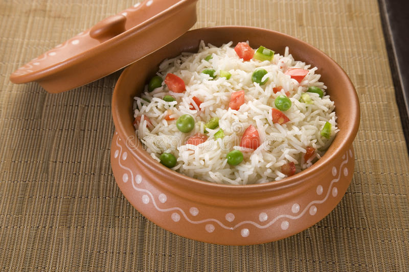 Vegetable Rice stock images