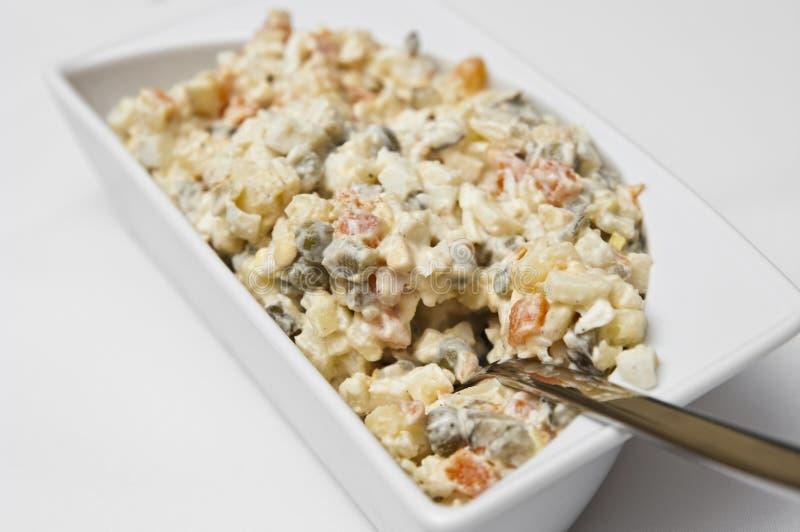 Download Vegetable salad stock image. Image of vegetables, plate - 12306253