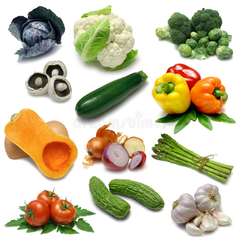Download Vegetable Sampler One Royalty Free Stock Photography - Image: 6431357