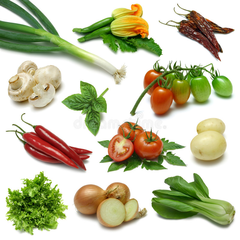 Free Vegetable Sampler Two Stock Photo - 6431640