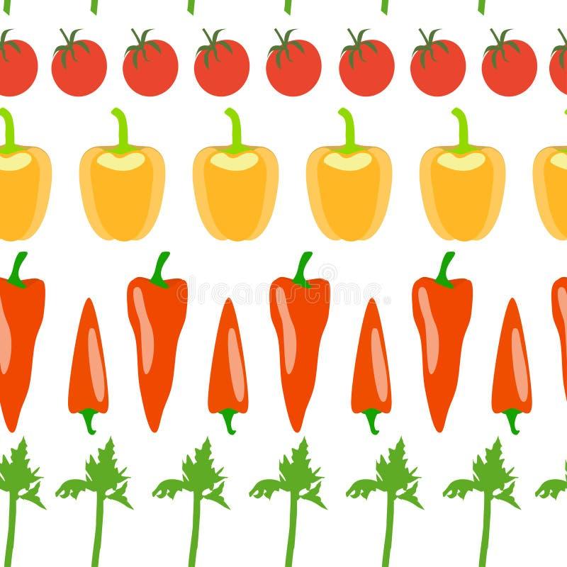 Download Vegetable seamless pattern stock vector. Image of garden - 83705093