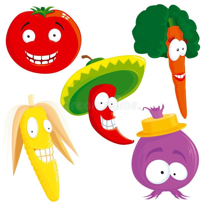 Vegetable Set Stock Photos