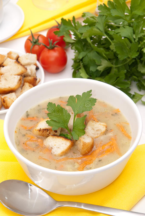 Download Vegetable soup stock image. Image of diet, freshness - 18066005
