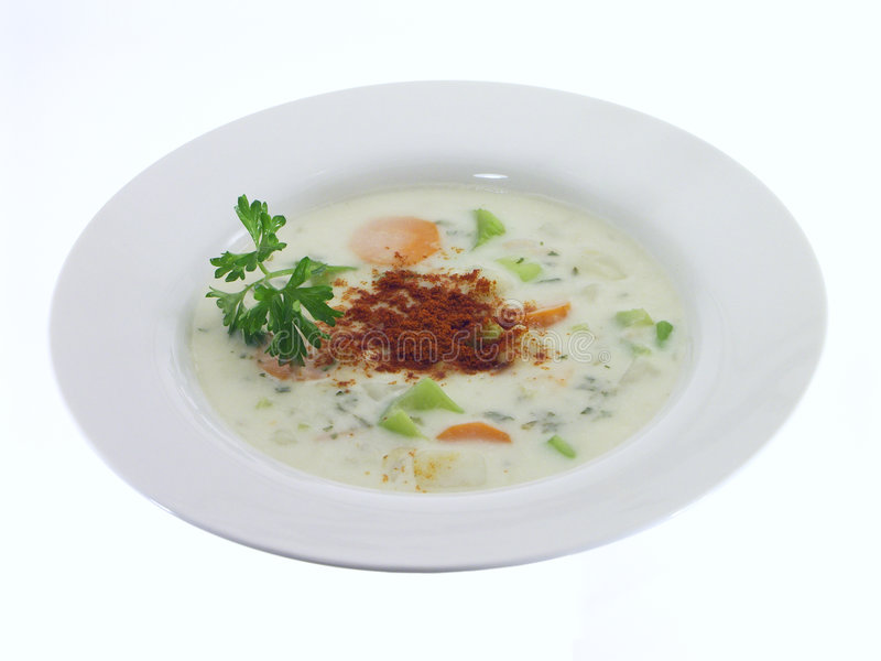 Vegetable Soup; 2 Of 5 Stock Image
