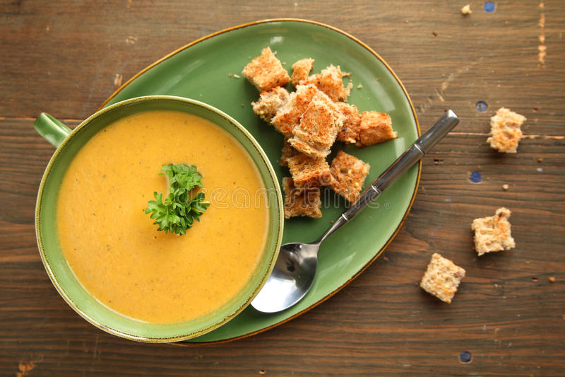 Download Vegetable soup stock image. Image of butternut, freshness - 22474483