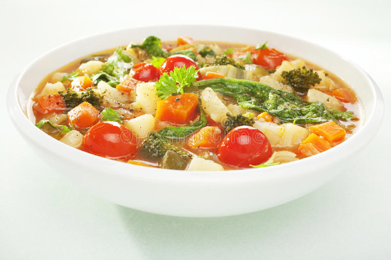 Vegetable Soup royalty free stock images