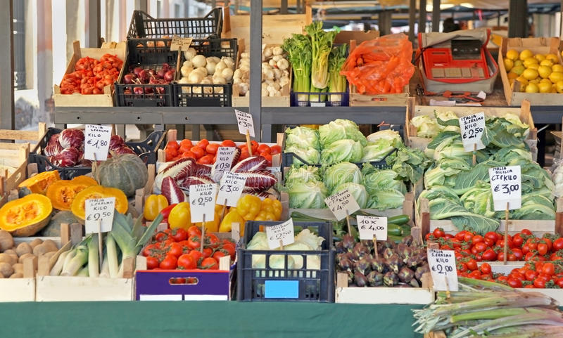 Download Vegetable stall stock photo. Image of ripe, heap, fresh - 39506678