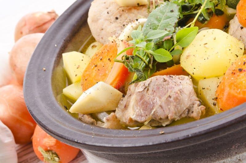 Vegetable stew стоковое фото
