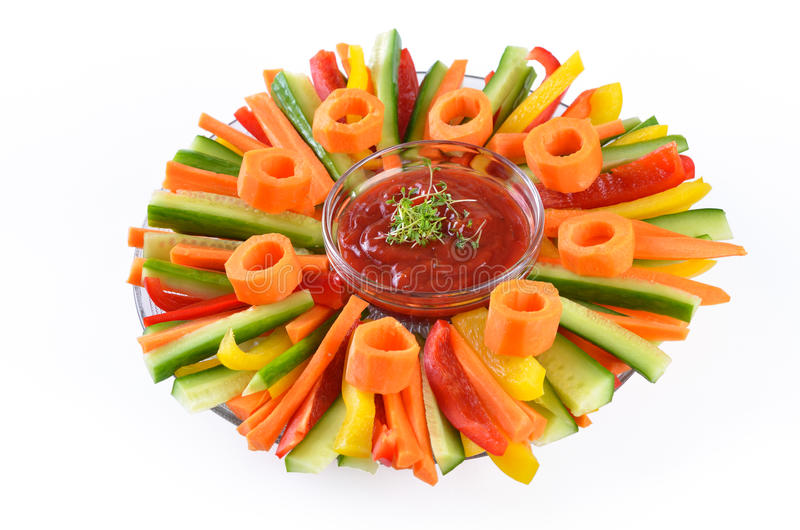 Vegetable sticks royalty free stock images