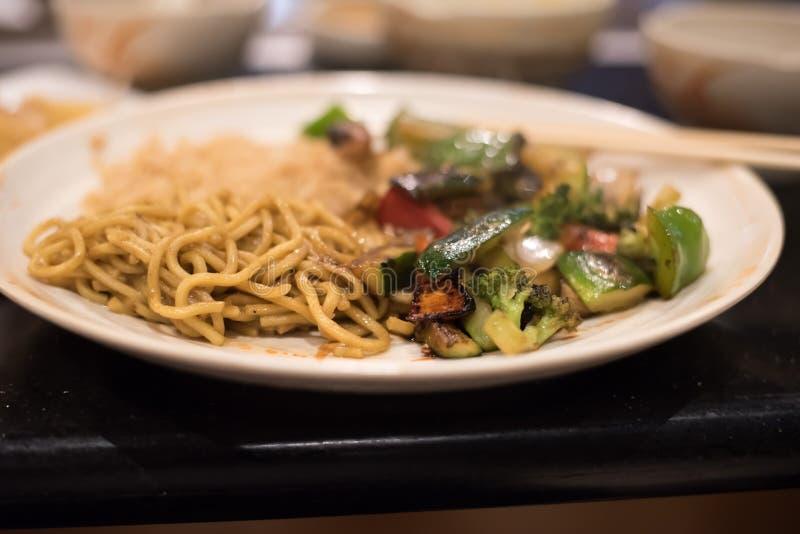 Vegetable Stir-Fry stock photo