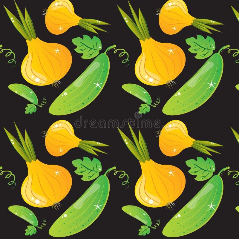 Vegetable texture vector illustration
