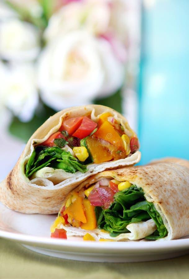 Free Vegetable Wrap Stock Photo - 8086880