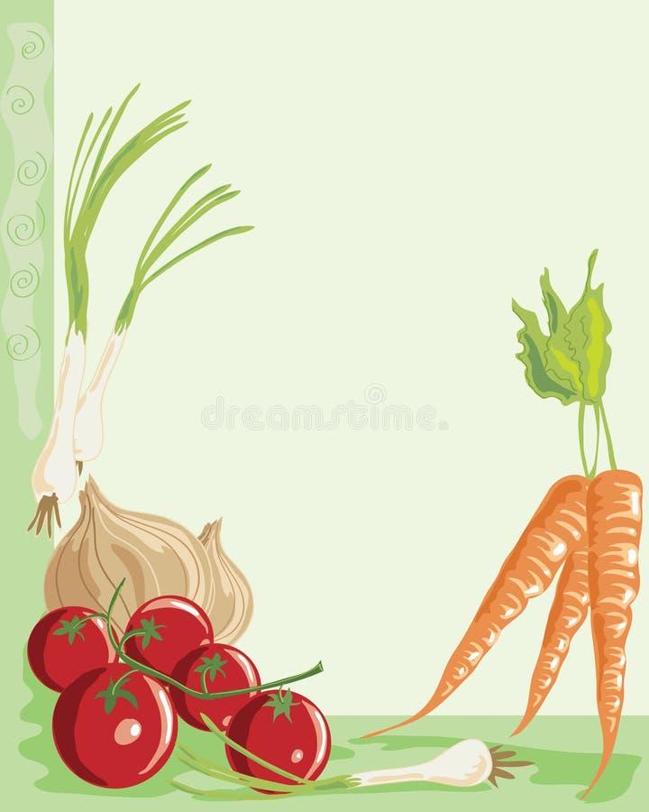Download Vegetables stock vector. Image of spring, crop, home - 13893549