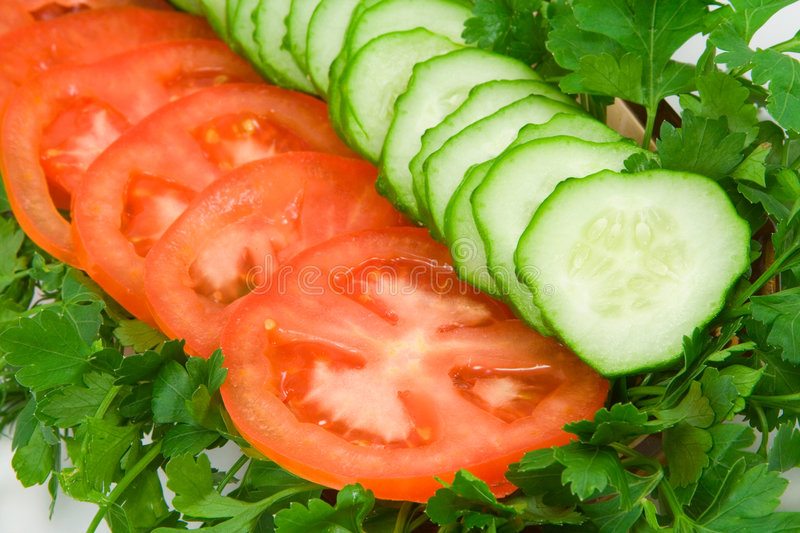 Download Vegetables stock photo. Image of cucumbers, leaf, parsley - 2252476