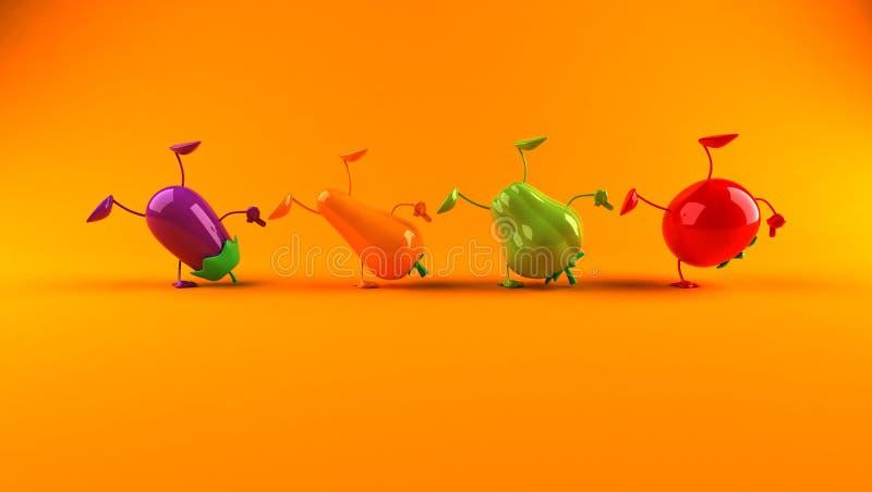 Download Vegetables stock illustration. Image of purple, cook, restaurant - 4092441