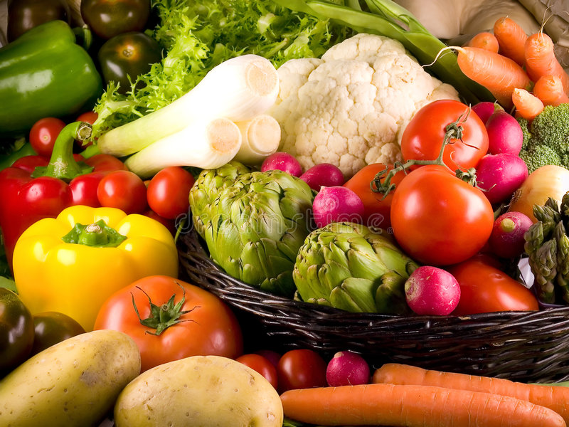 Download Vegetables stock photo. Image of lettuce, endive, cauliflower - 4236762