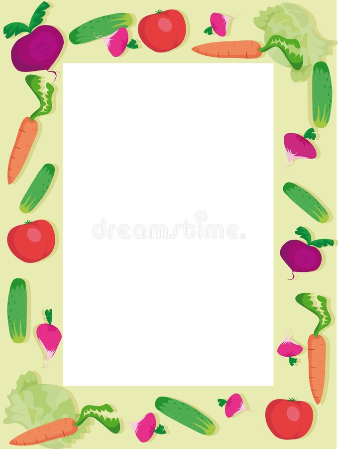 Download Vegetables stock vector. Image of carrot, meal, cucumber - 5175556