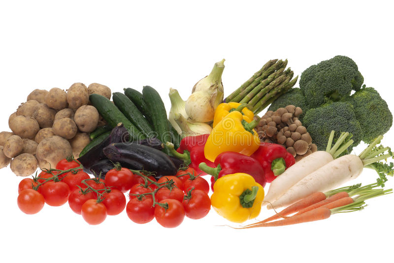 Vegetables. After raw file is developed, it makes it to the jpg file. Thanks for checking it out royalty free stock photos