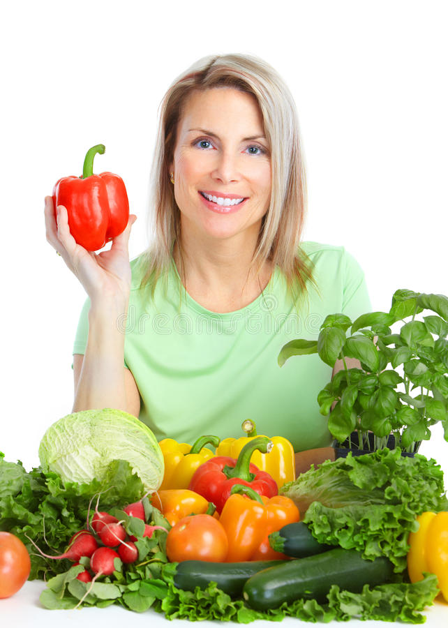 Free Vegetables And Fruits Stock Photography - 18148912