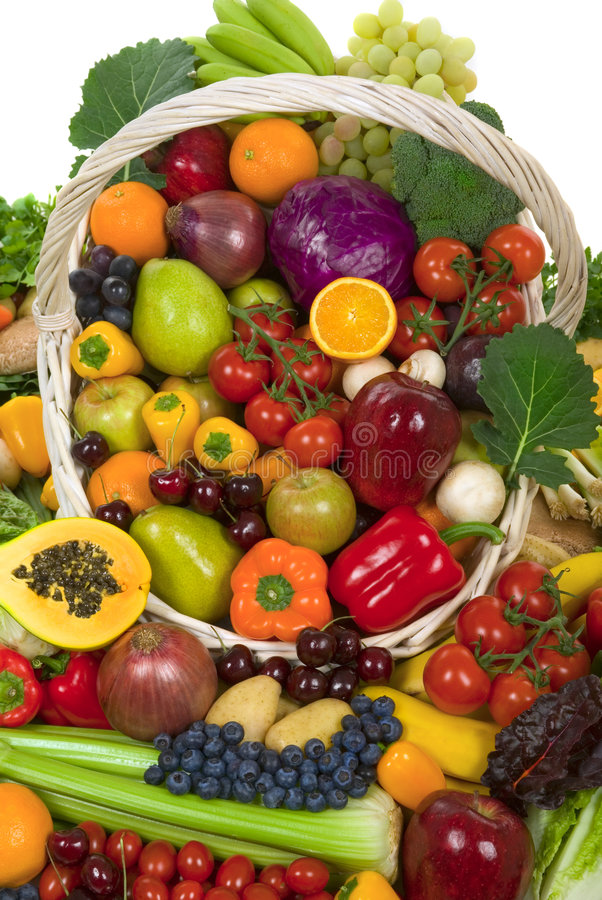 Free Vegetables And Fruits Royalty Free Stock Photos - 4090978