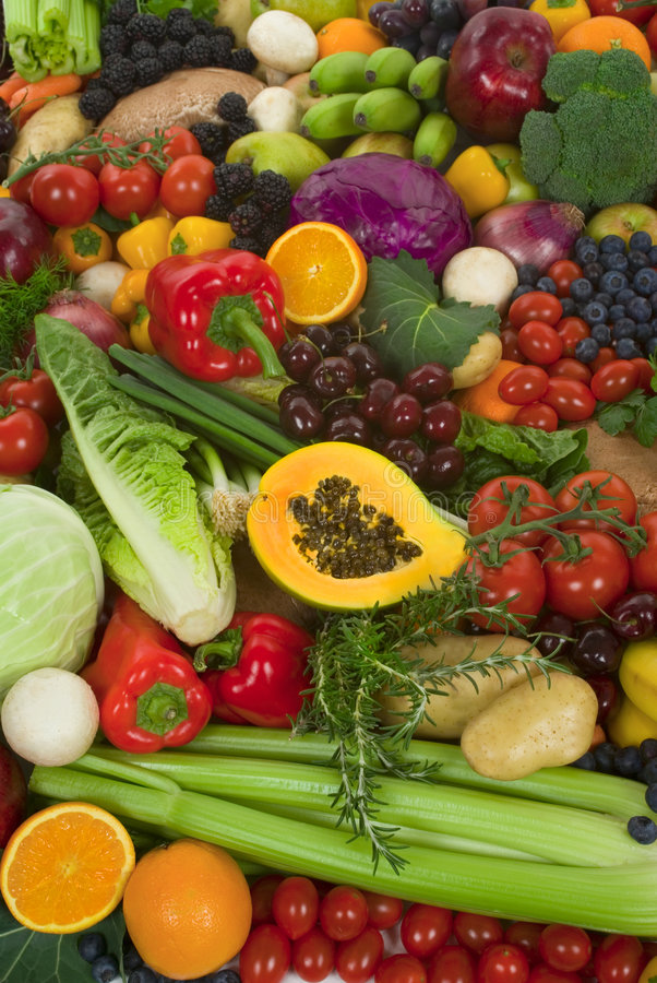 Free Vegetables And Fruits Stock Photos - 4091033
