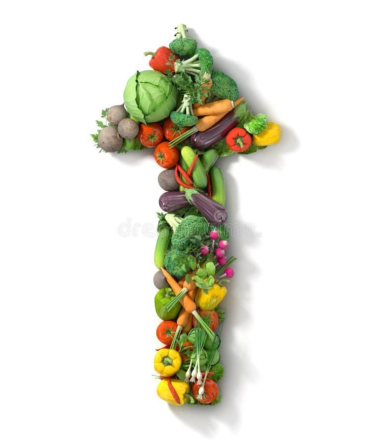 Free Vegetables Arrow. Royalty Free Stock Photo - 51360225