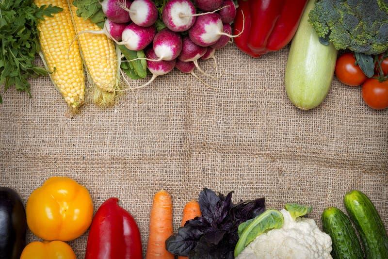 Vegetables background stock photos
