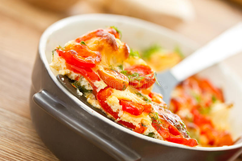 Download Vegetables Baked With Cheese Stock Image - Image: 29314967