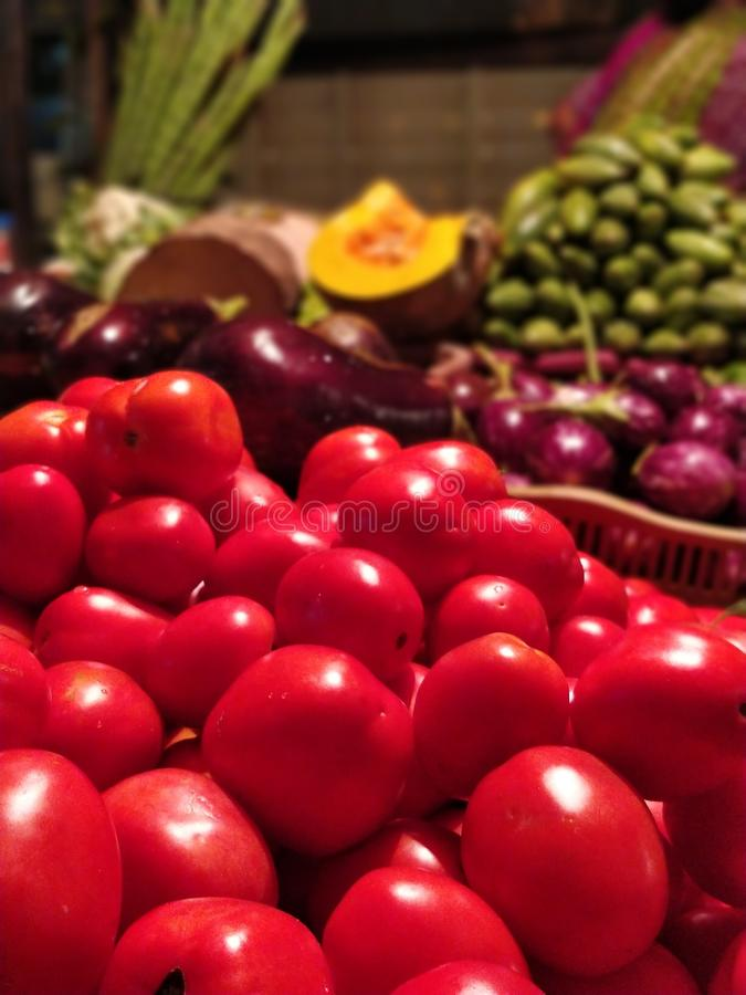 Vegetables for a better living. Train your body to crave healthy food royalty free stock image