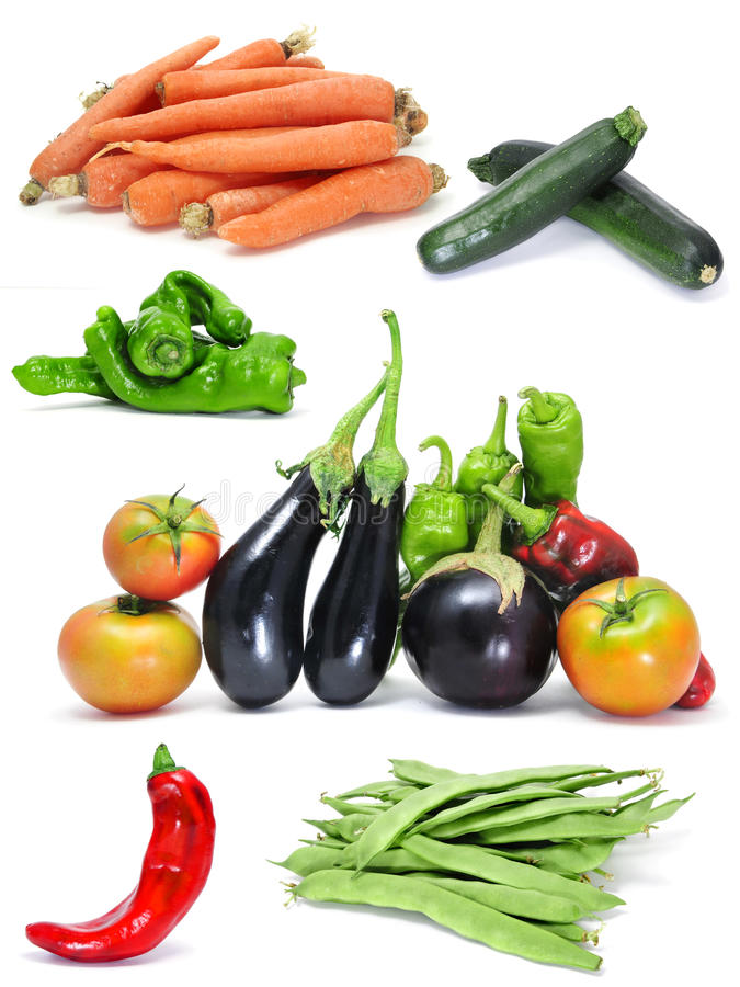 Download Vegetables collage stock image. Image of health, green - 16715281