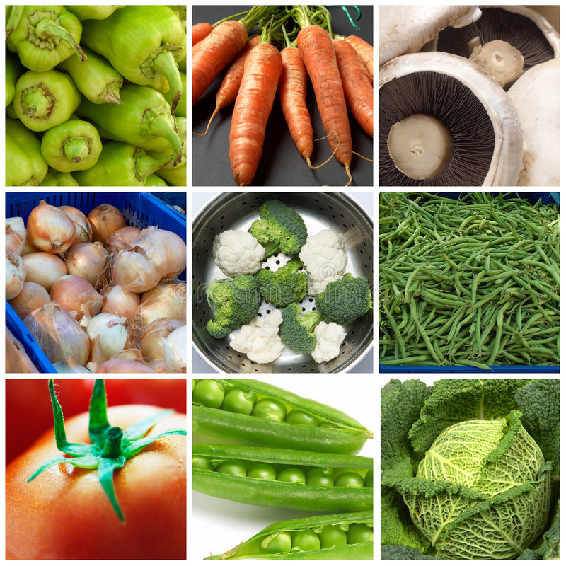 Download Vegetables collage stock photo. Image of ingredients, green - 7498398