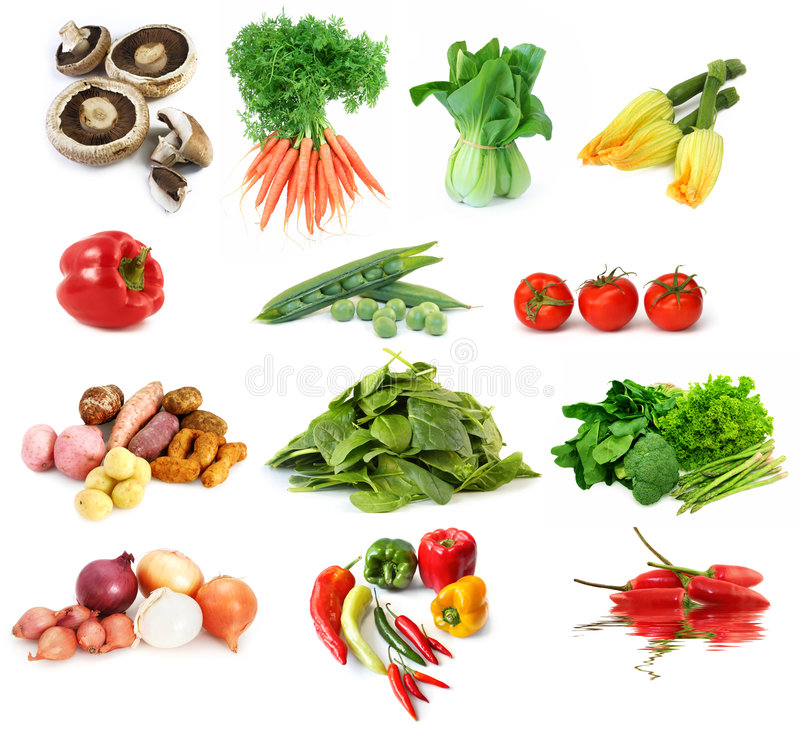 Free Vegetables Collection Stock Photos - 6641613