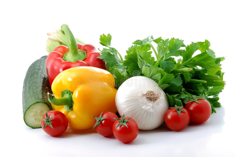 Vegetables composition royalty free stock image