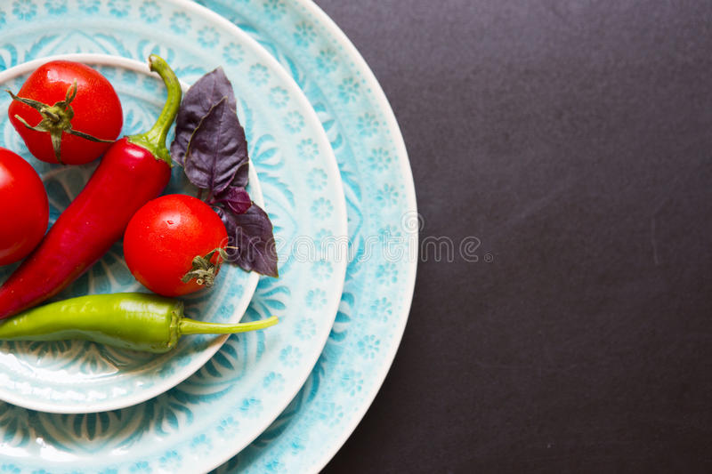Vegetables cooking royalty free stock images