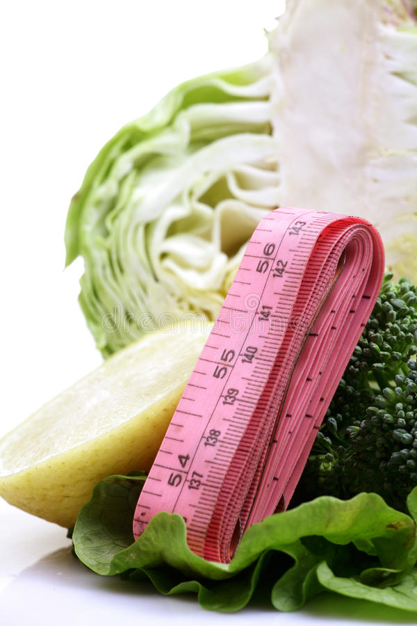 Vegetables And Fittness Royalty Free Stock Images