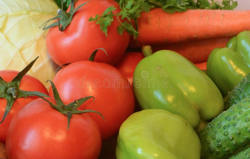 Vegetables. Fresh vegetables from garden royalty free stock photos
