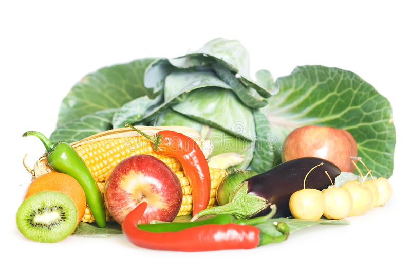 Vegetables, fruits stock photo