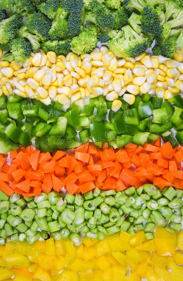 Yellow Fruit And Vegetables Stock Photo - Image of fruits ...