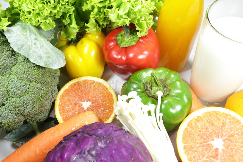 Download Vegetables and Fruits stock photo. Image of backgrounds - 34441570